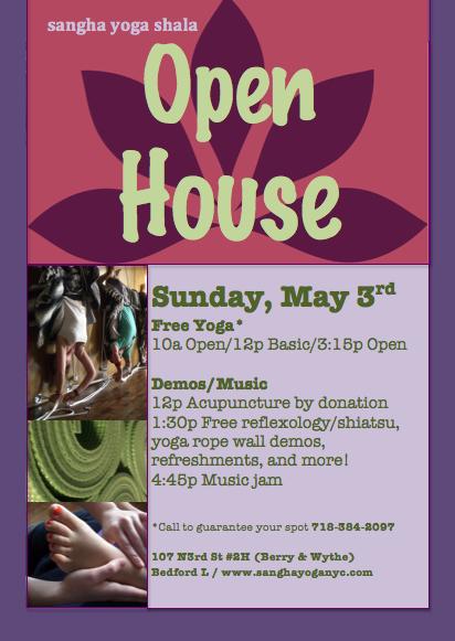 open house flier