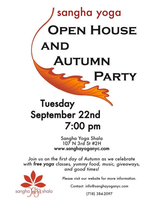 Open House Sep 22 Flier