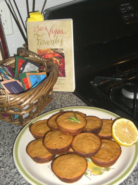 Yummy Vegan Pumpkin Muffins
